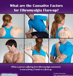 What are the Causative Factors for Fibromyalgia Flare-up?