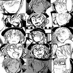 The many faces of Chuuya Nakahara pt 2 Bungou Stray Dogs Chuya, Stray Dogs Anime, Noragami, Fiction Writing Prompts, Chuuya Nakahara, Mikaela Hyakuya, Otaku, Best Waifu, Manga