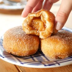 APPLE PIE BOMBS It's not fall until you've made apple pie bombs a la mode with creamy vanilla ice cream and glazed apples all over the tops. I love fall dessert recipes! Fall Dessert Recipes, Fall Recipes, Sweet Recipes, Delicious Desserts, Yummy Food, Easy Fall Desserts, Simple Food Recipes, Easy Desert Recipes, Cheap Recipes