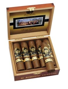 Robusto Immenso... one of the best cigars I've smoked!!