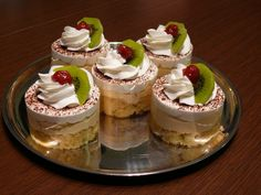 Klikni pro originální velikost obrázku Fancy Cakes, Mini Cakes, Cake Pops, Cheesecake, Pudding, Cupcakes, Sweets, Chocolate, Food