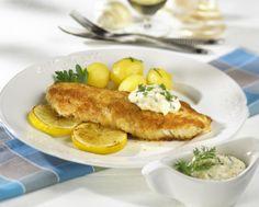 Unser beliebtes Rezept für Gebratenes Fischfilet mit Remouladensoße und mehr als 55.000 weitere kostenlose Rezepte auf LECKER.de.