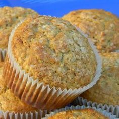 """Buttermilk Oatmeal Muffins 