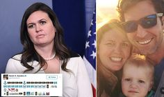 Sarah Huckabee Sanders' three-year-old tweeted from her UNLOCKED phone Sarah Huckabee Sanders, 2016 Presidential Election, Unlocked Phones, Three Year Olds, Sons, Mail Online, Daily Mail, My Son, Boys