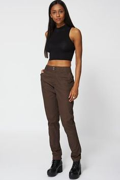 Brown Combat Style Trouser Ex-Branded - Passions69