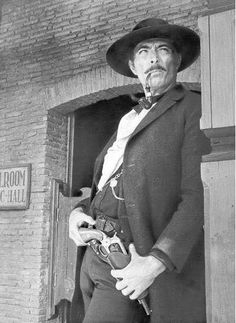 "Clarence Leroy ""Lee"" Van Cleef, Jr. (January 9, 1925 – December 16, 1989), was an American film actor who appeared mostly in Westerns and action pictures. His sharp features and piercing eyes led to his being cast as a villain in scores of films, such as Kansas City Confidential, High Noon, The Man Who Shot Liberty Valance, and The Good, the Bad and the Ugly, prior to his becoming a leading man in a number of Spaghetti Westerns."