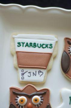 Cookies by www.SoonerSugar.com Starbucks cookies
