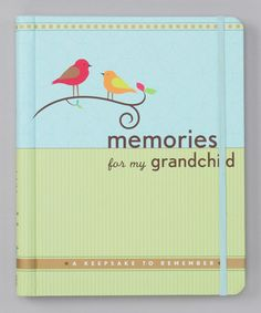 Another great find on #zulily! Memories for My Grandchild Journal by Peter Pauper Press #zulilyfinds