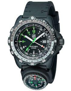 Luminox Recon Navy SPC Mens Metric Strap Watch with Compass - Black Dial  Casio c3400d56e9c
