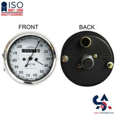 Smiths Replica Speedo Meter Speedometer 0-120 MPH White For BSA - Saio