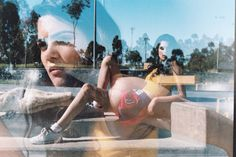 portraits double exposure || kodak portra 35mm film photography || by Carly Siciliano