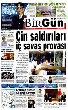Gazete manşetleri (10.07.2015)