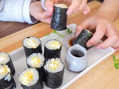 Love Eat, Love Food, Bento, Kids Menu, Rice Balls, Baby Food Recipes, Sushi, Food And Drink, Lunch