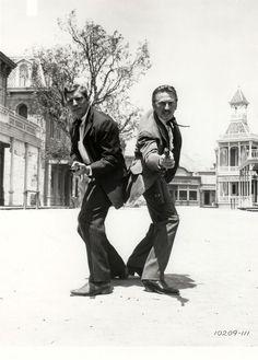 Kirk Douglas Movies Western | Gunfight at the O.K. Corral (1957) - Burt Lancaster & Kirk Douglas