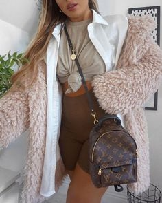 Shared by Sophisticated Sexy. Find images and videos about fashion, style and outfit on We Heart It - the app to get lost in what you love. Backpack Outfit, Lv Mini Backpack, Pochette Louis Vuitton, Louis Vuitton Backpack, Balenciaga, Yves Saint Laurent, Luxury Bags, Fashion Outfits, Womens Fashion