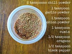 Copycat Chipotle Chicken Seasoning