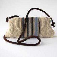 Cute Karen Meyer knitted bag - want