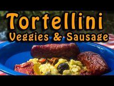 Dutch Oven Tortellini Veggies & Sausage - YouTube