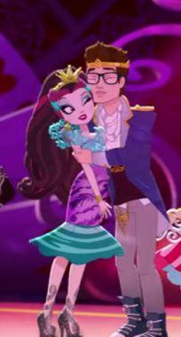 Raven Queen and Dexter Charming Queen E, Raven Queen, Ever After High, Dexter Charming, High E, Frozen Pictures, After High School, Art Portfolio, Akira