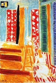 Henri Matisse | 1942 | Sun's Ray | Oil on canvas | 73 cm (28.74 in.) x 50 cm (19.69 in.) | Musée Matisse (Nice)