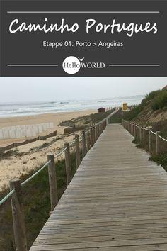 Etappe 1 . Porto > Angeiras: Jakobsweg / Caminho Portugues / Camino Portugues; Porto (Portugal) > Santiago de Compostela (Spanien)