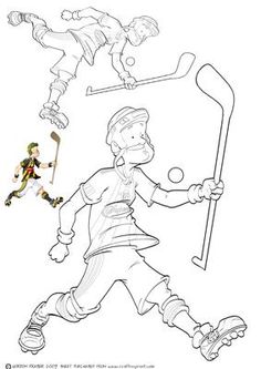 Hurling Dude Digi Stamp on Craftsuprint designed by Gordon Fraser - New sport to me this one! Hurling Dude goes for victory! Digi stamp version in two different sizes (can easily be resized in your own software) with colour guide for reference. More versions of this Dude are available! Don't forget to check out all my other Dude designs and illustrations. - Now available for download!