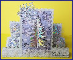 """Tattered Lace """"Christmas Stepper"""" Tattered Lace """"Let it snow"""""""