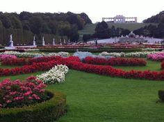 Château de Schönbrunn : gardens before winter