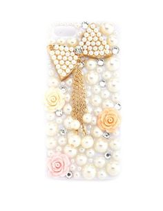 Pearl Bow Floral Phone Case - 5: Charlotte Russe
