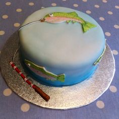 Fly Fishing Cake - Rainbow Trout