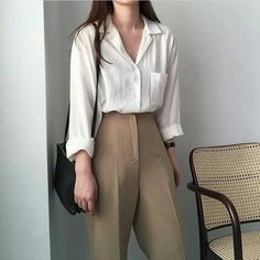 Tomboy Outfits, Mode Outfits, Casual Outfits, Fashion Outfits, Womens Fashion, Fashion Trends, Fashion Ideas, White Outfits, Fall Outfits
