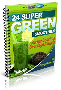 Grab your free smoothie book. Just click the book cover.
