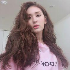 Nothing Much🦓  Jeon Somi, Korean Celebrities, Celebs, Kpop Hair, Elegant Wedding Hair, New Hair Colors, Messy Hairstyles, Korean Beauty, Snsd