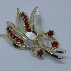 Hey, I found this really awesome Etsy listing at https://www.etsy.com/listing/595795861/ruby-rhinestone-brooch-ruby-rhinestone