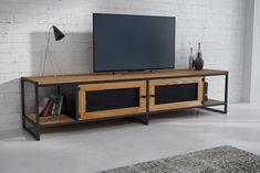 TV table Mila Source by Woodworking Furniture, Metal Furniture, Cheap Furniture, Industrial Furniture, Rustic Furniture, Furniture Design, Furniture Nyc, Rack Tv, Living Room Decor Colors