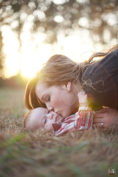 Mama and baby photo