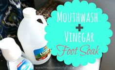 Mouthwash and Vinega