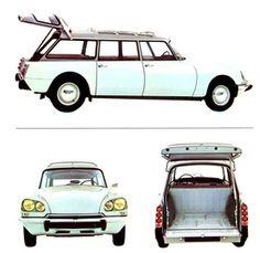 Citroën DS 21 (1968) - Break hiess dieser Kombi - Illustration aus dem…