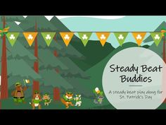 Kindergarten Music, Teaching Music, St Patrick's Day Music, Online Music Lessons, Music Lesson Plans, Music And Movement, Primary Music, Brain Breaks, Music Classroom