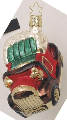 Inge Glas 2002#Christbaumschmuck#aus dem Hause Inge Glas.Weihnachtsbaumschmuck made in Germany mundgeblasen und von Hand bemalt bei www.gartenschaetze-online.de