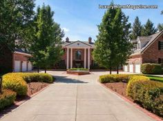 Classic Georgian Brick Home in Cherry Hills, CO. presents timeless style with quality and elegance! This estate was built for a member of the Walt Disney family!