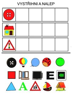 Picture Composition, Logic Games, English Book, Color Shapes, Preschool Crafts, Special Education, Activities For Kids, Pattern, Puzzle
