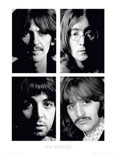 The Beatles WHITE ALBUM PORTRAITS Premium Gallery Poster Print  ~ Available at www.sportsposterwarehouse.com