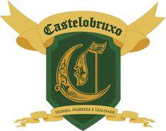 Bien este es mi propuesta de escudo de castelobruxo... espero queles guste... Primero me base en la bandera brasileña, utilizando los amarillos y verdes. Sin embargo, reempla...