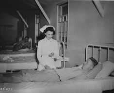 More than 59,000 American nurses served in the Army Nurse Corps during World War II. Nurses worked closer to the front lines than they ever had before. They served under fire in field hospitals and evacuation hospitals, on hospital trains and hospital ships, and as flight nurses on medical transport planes.