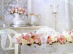 pink shabby chic  | CUTE PINK STUFF ... and more: Shabby Chic Revised