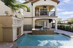 Private courtyard pool at a vacation home near Disney.  ALL STAR VACATION HOME.  I need to try one of these sometime.