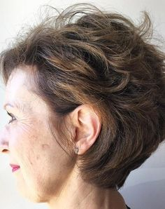 Soft Tousled Waves hairstyles for women over 50