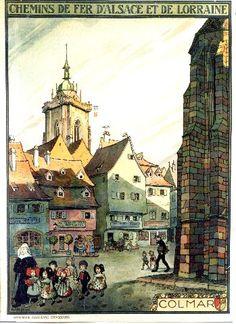 Colmar Hansi Jean Jacques Waltz 1921