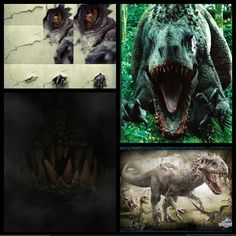 Jurassic World- The Revealing of Indominus; Creation of the Indominus Rex: The Indominus Rex was created in the back lab of the Hammond Creation Center. Using DNA from both T-Rex and Velociraptor, it was made the most intelligent and vicious of all dinosaurs in Jurassic World while also using genetic material hybridized from Carnotaurus, Majungasaurus, Rugops and Gigantosaurus for the placement of its horns above the eye orbit and giving it its distinctive head ornamentation and ultra-tough…